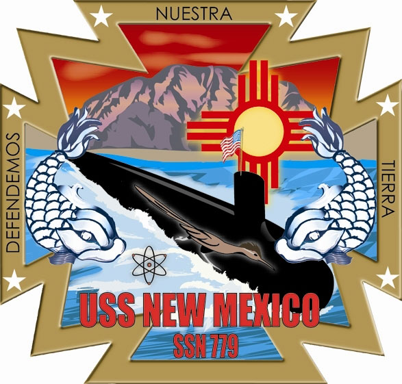USS NEW MEXICO SSN-779 Crest Grafik: U.S. Navy