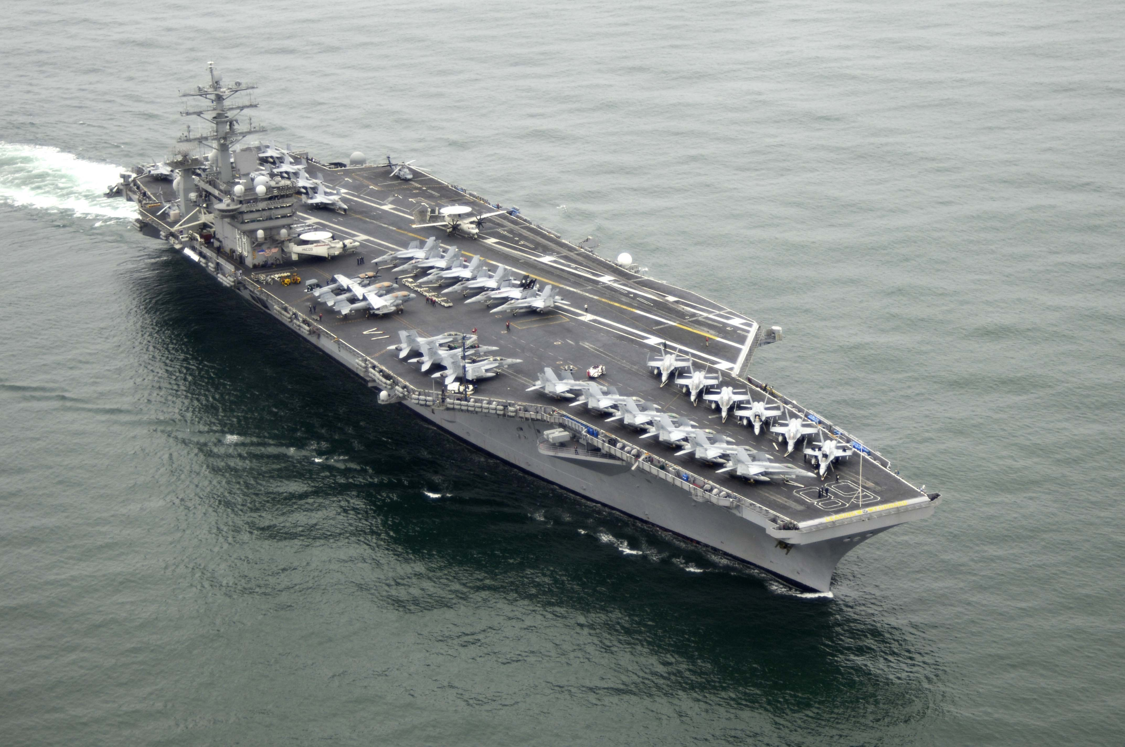 USS NIMITZ CVN-68 Bild: U.S. Navy