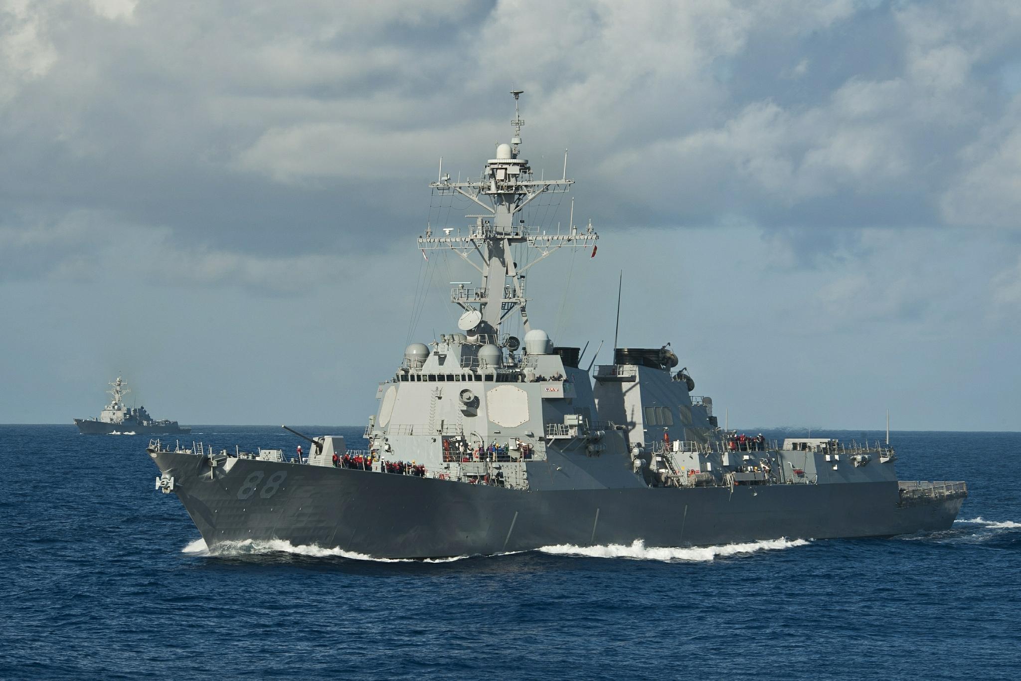 USS PREBLE DDG-88 Bild: U.S. Navy