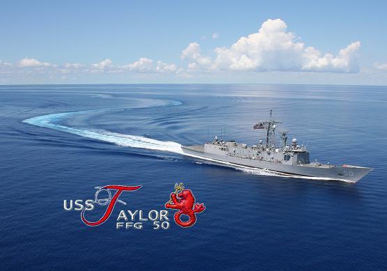 USS TAYLOR FFG-50 Bild: USS TAYLOR Webseite www.taylor.navy.mil