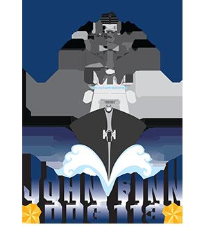 Logo Christening USS JOHN FINN DDG-113 Grafik: Huntington Ingalls Ind.