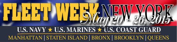 Fleet Week New York 2015 Logo