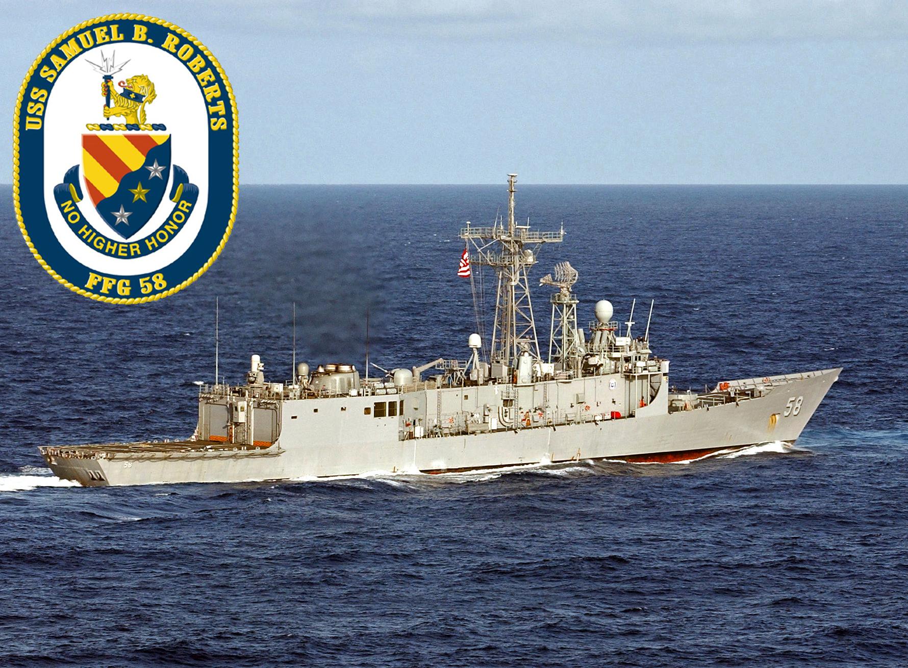 USS SAMUEL B. ROBERTS FFG-58 Bild und Grafik: U.S. Navy