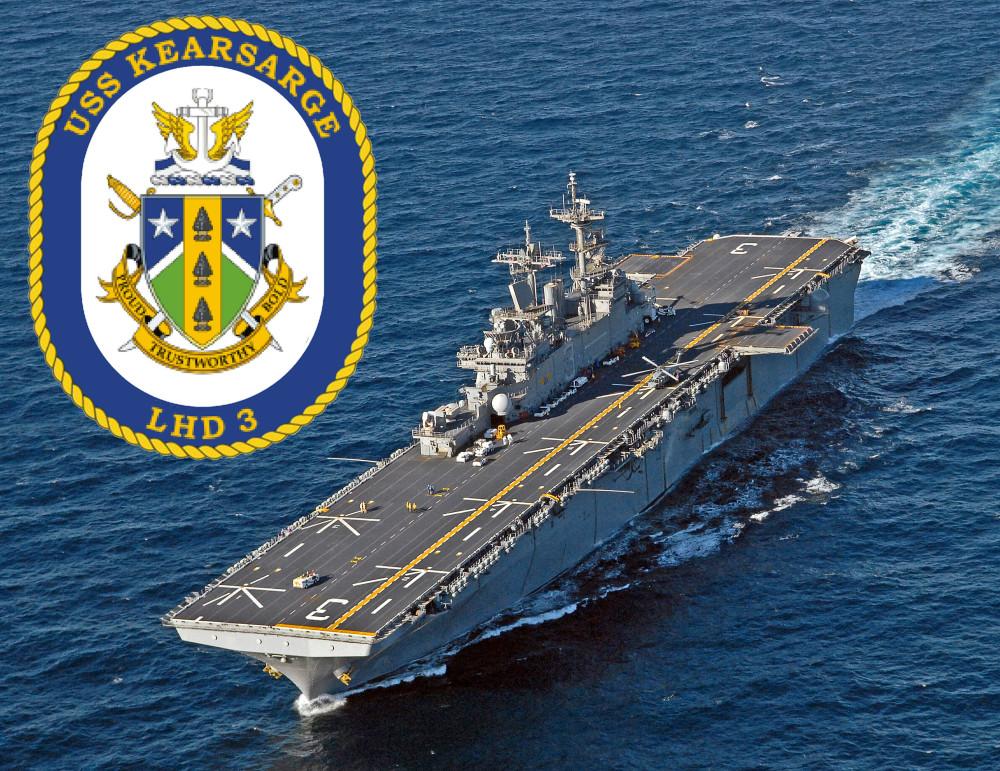 USS KEARSARGE LHD-3 Bild und Grafik: U.S. Navy
