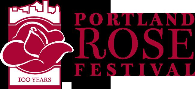 Portland Rose Festival 2015 Logo Grafik: Portland Rose Festival Foundation