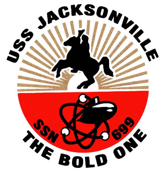 USS JACKSONVILLE SSN-699 Crest Grafik: U.S. Navy