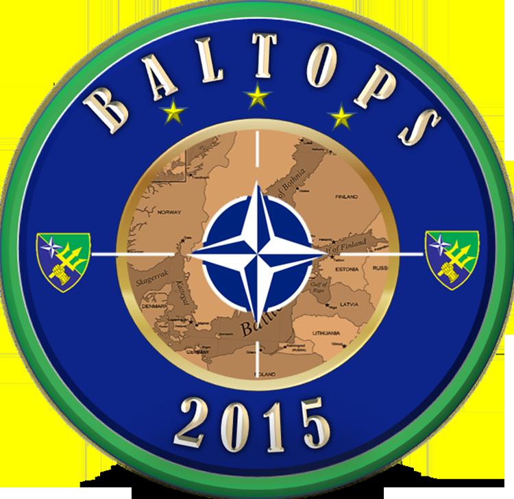 Logo BALTOPS 2015 Grafik: NATO