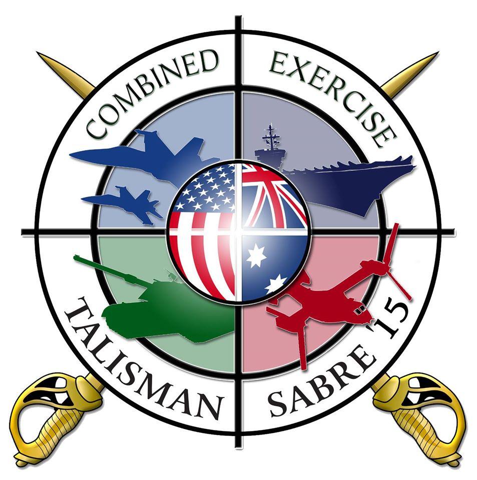 Logo Exercise Talisman Sabre 2015 Grafik: U.S. Navy