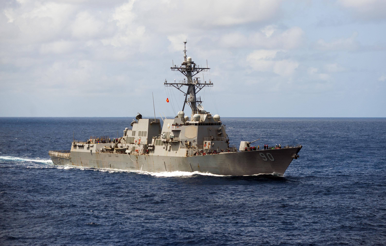 USS CHAFEE DDG-90 am 29.05.2015 im Südchinesischen Meer Bild: U.S. Navy