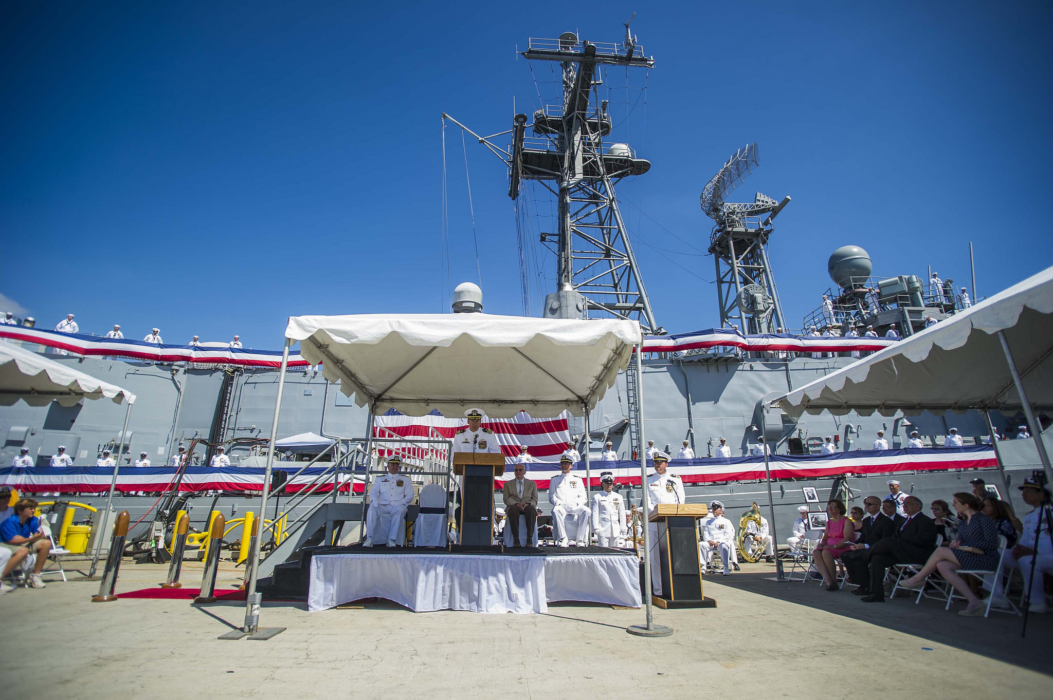 USS GARY FFG-51 Decommissioning Ceremony Bild: U.S. Navy