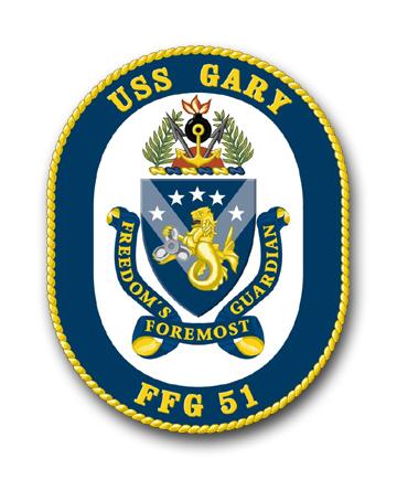 USS GARY FFG-51 Crest Grafik: U.S. Navy