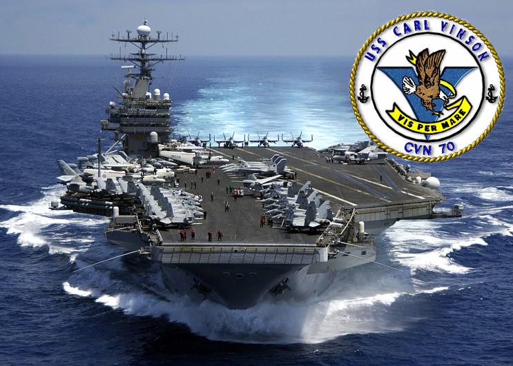USS CARL VINSON CVN-70 Bild und Grafik: U.S. Navy