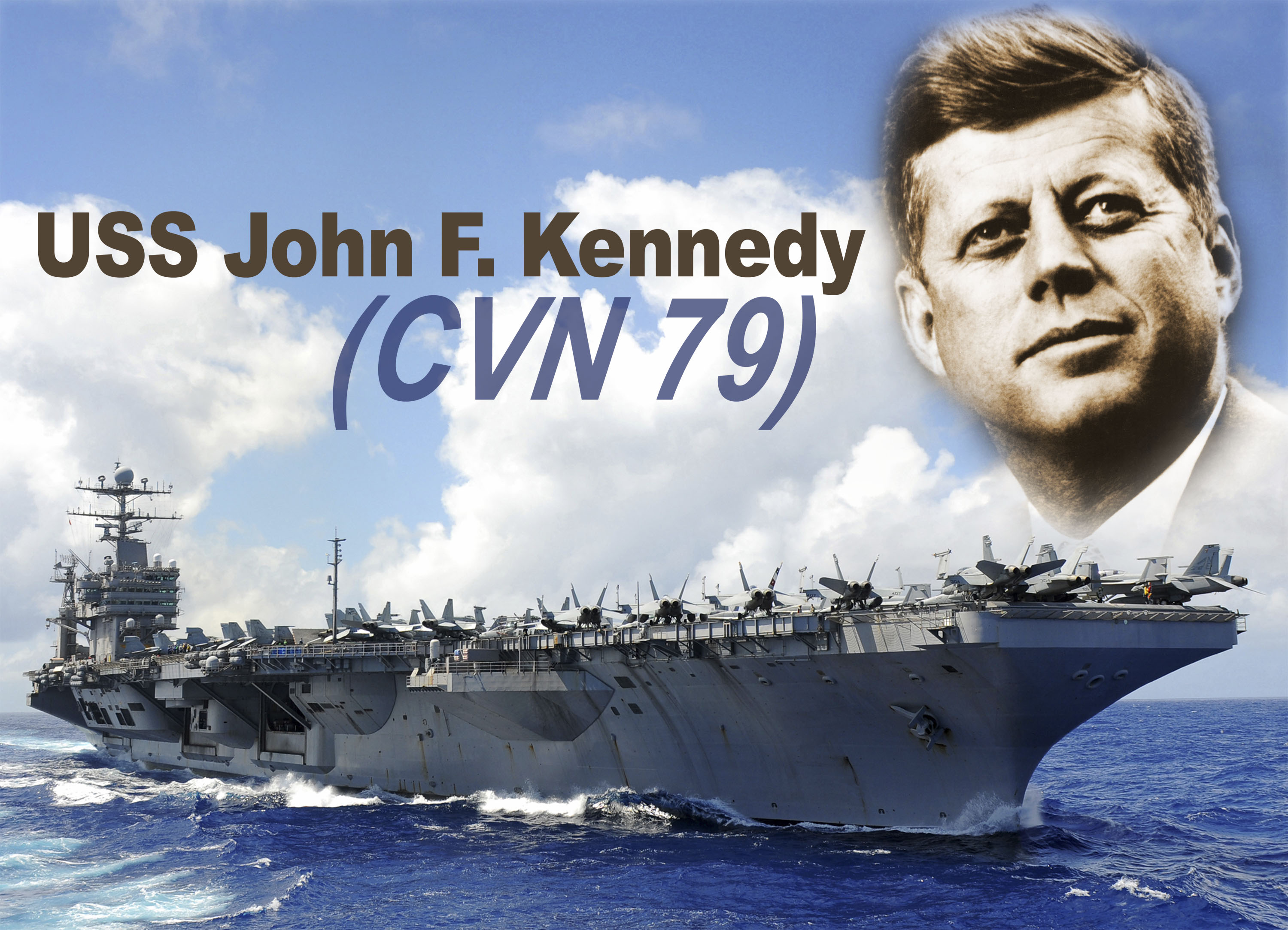 USS JOHN F. KENNEDY CVN-79 Illustration: U.S. Navy