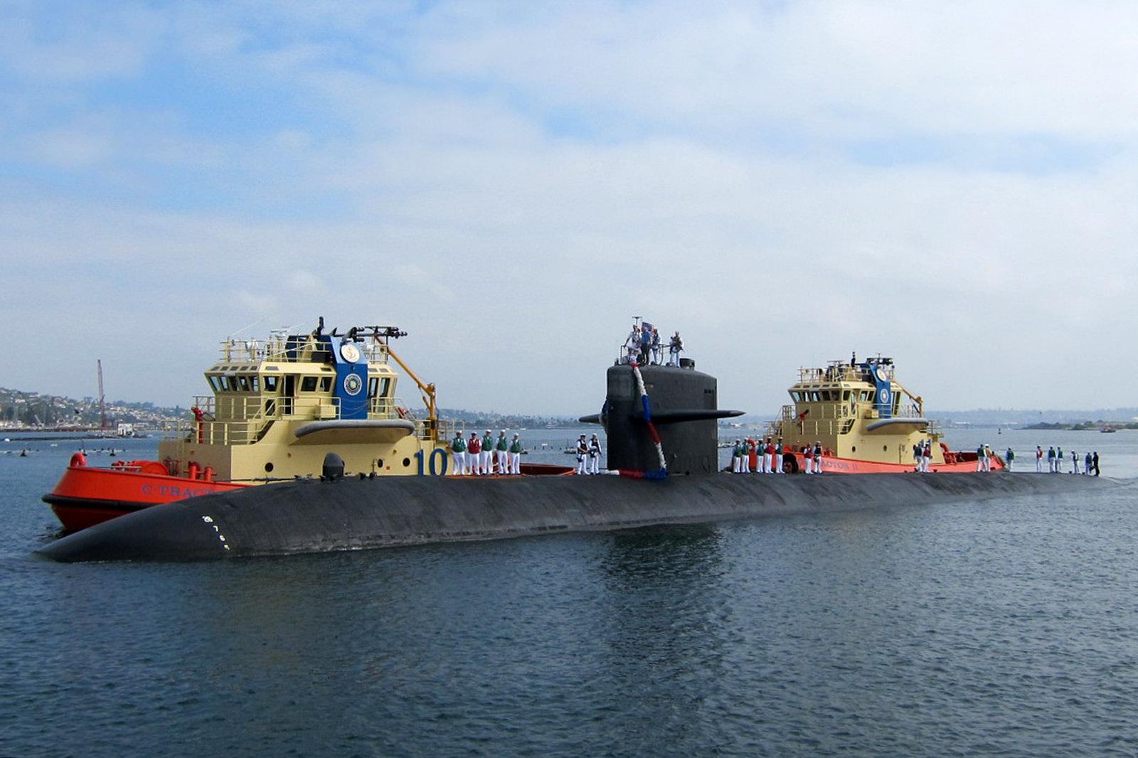 USS ALBUQUERQUE SSN-706 Einlaufen San Diego am 21.08.2015 Bild: U.S. Navy