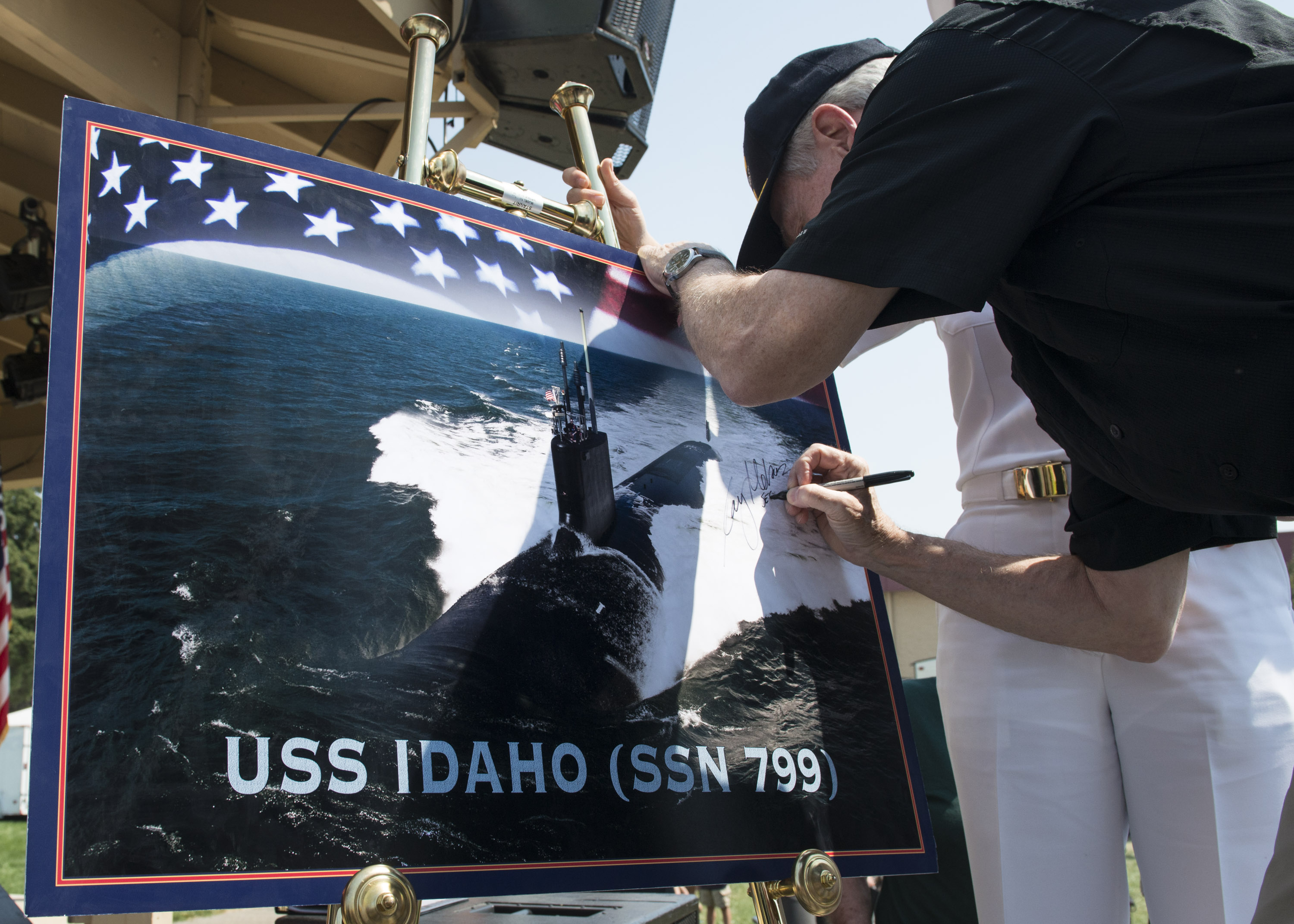 USS IDAHO SSN-799 Naming Bild: U.S. Navy