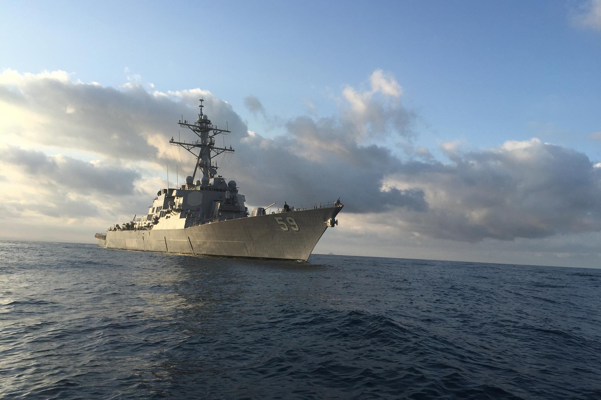 USS RUSSELL DDG-59 Bild: U.S. Navy