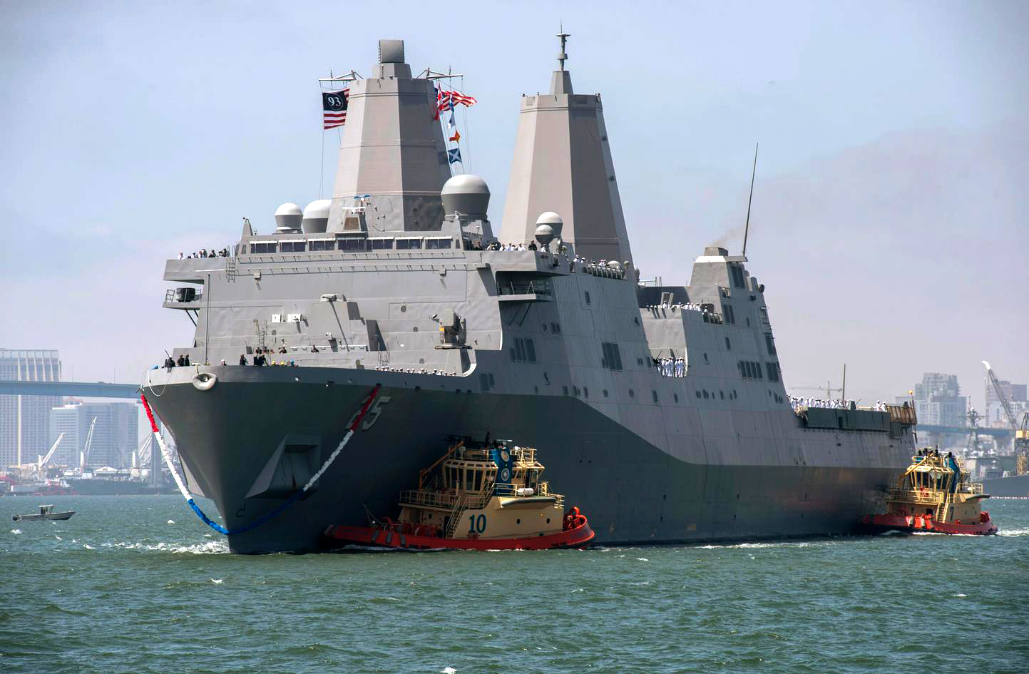 USS SOMERSET LPD-25 Fleet Week San Diego 2015 Bild: U.S. Navy