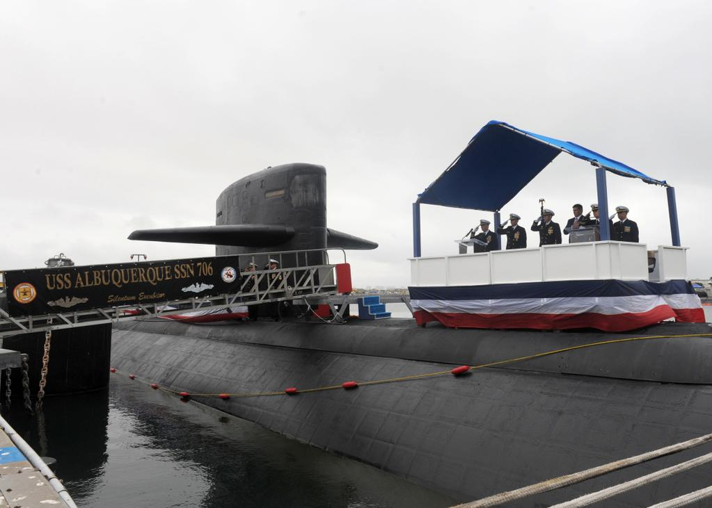 USS ALBUQUERQUE SSN-706 Deactivation Bild: U.S. Navy