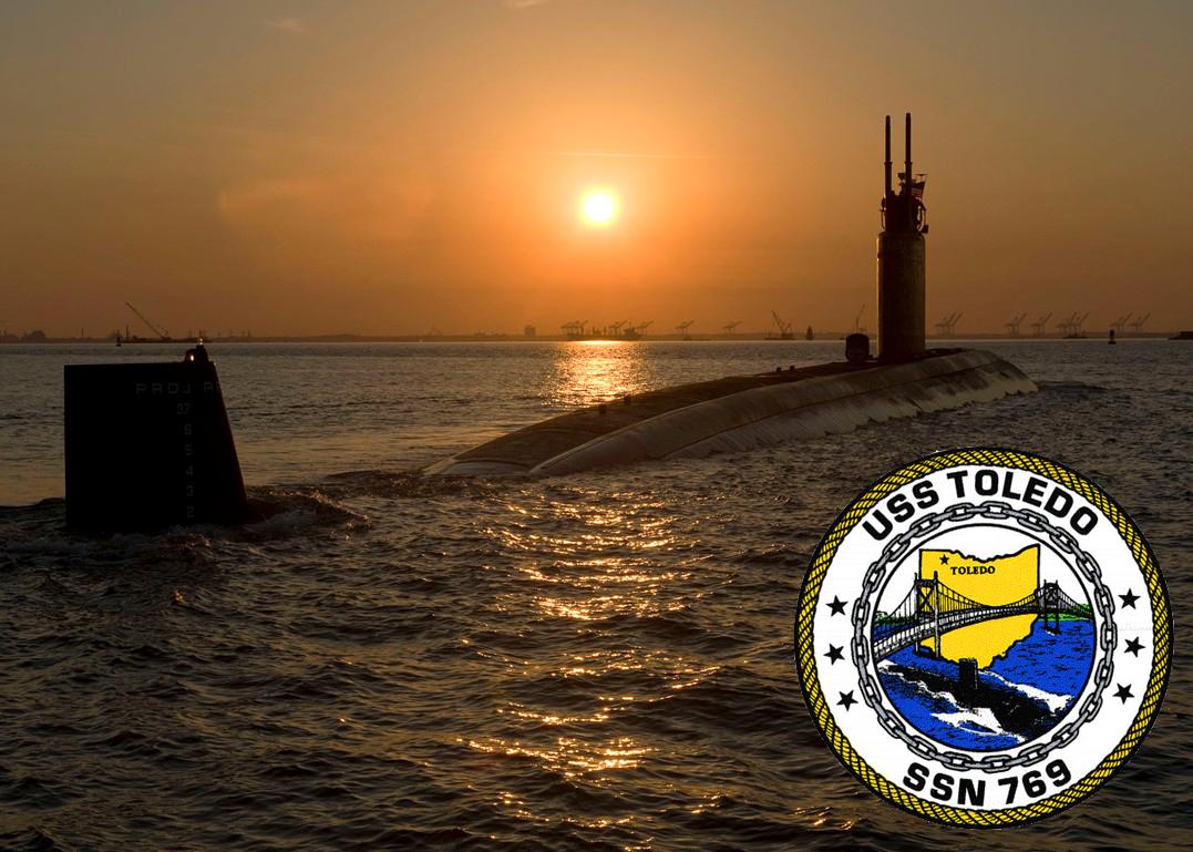 USS TOLEDO SSN-769 Bild und Grafik: U.S. Navy