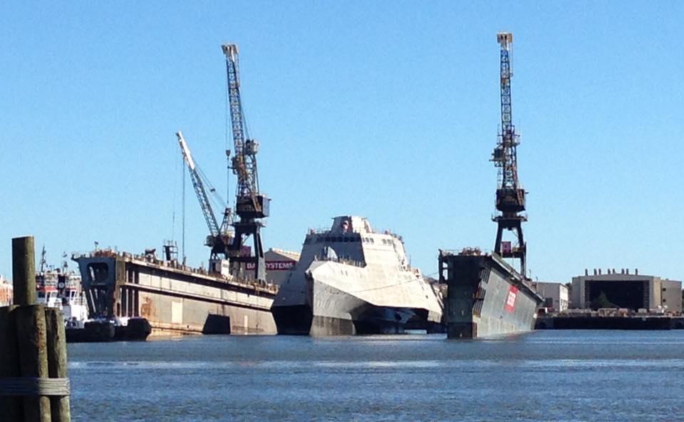USS OMAHA LCS-12 Launch Bild: Austal USA