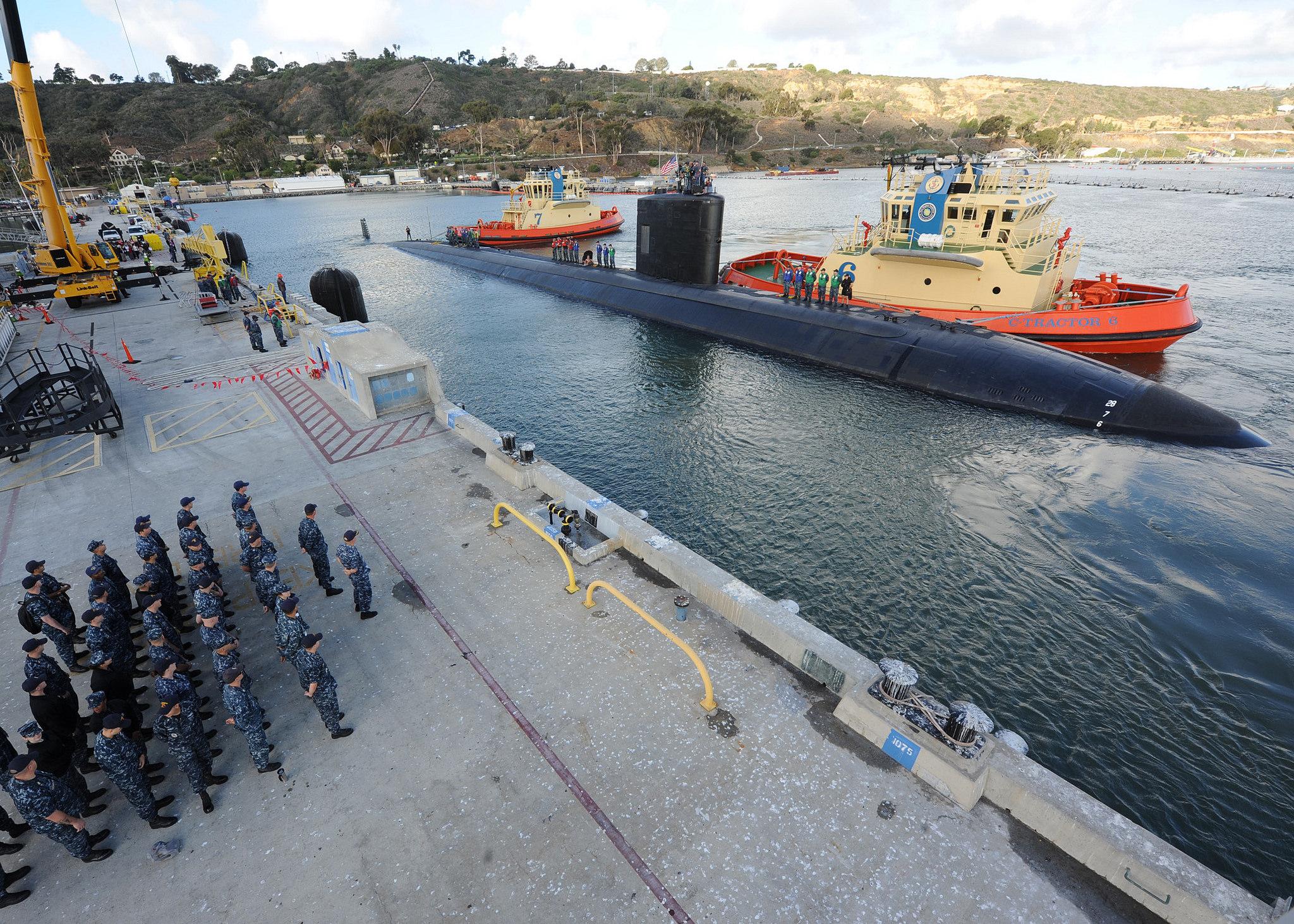 USS ALEXANDRIA SSN-757 Ankunft San Diego am 10.11.2015 Bild: U.S. Navy