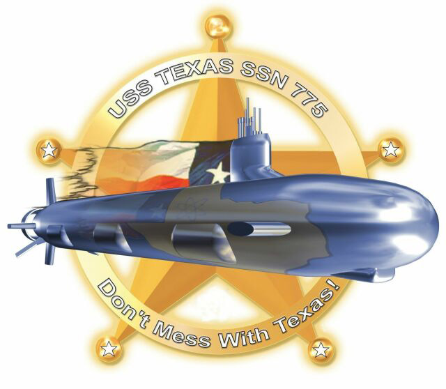 USS TEXAS SSN-775 Crest Grafik: U.S. Navy