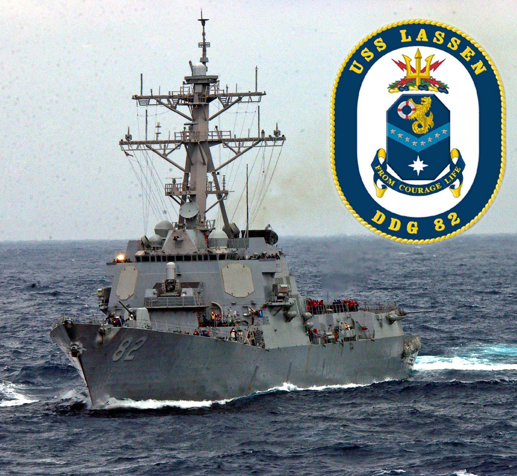 USS LASSEN DDG-82 Bild und Grafik: U.S. Navy