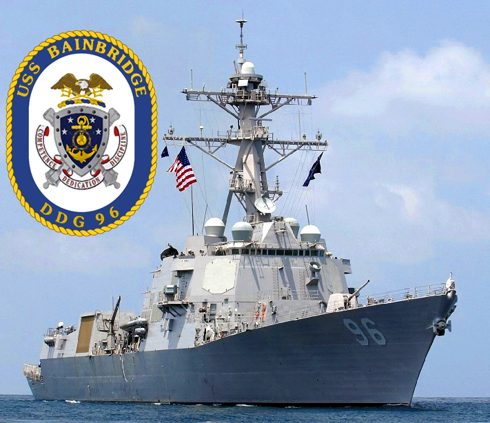 USS BAINBRIDGE DDG-96 Bild und Grafik: U.S. Navy