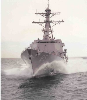 USS McCAMPBELL DDG-85 Bild: U.S. Navy