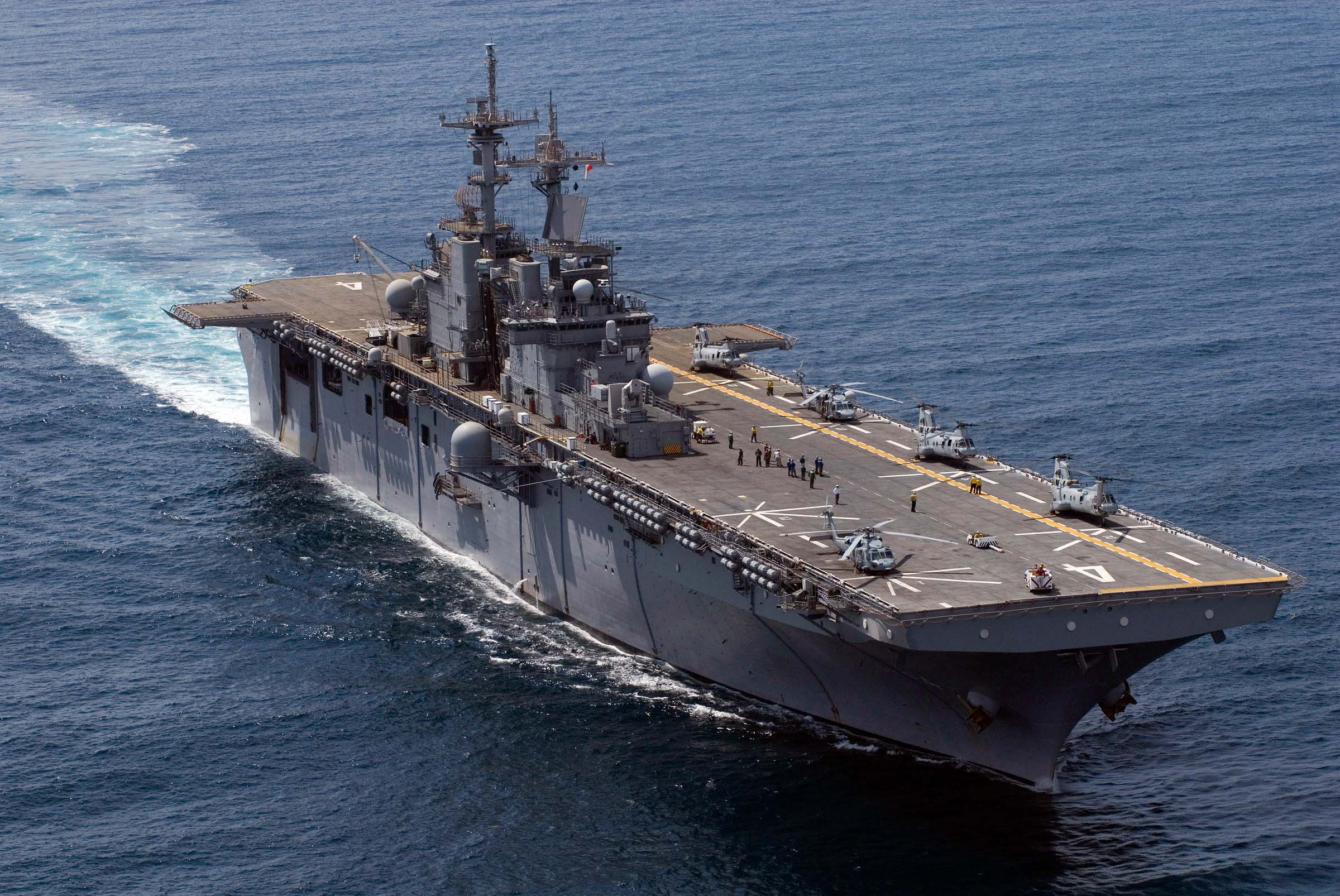 USS BOXER LHD-4 Bild: U.S. Navy