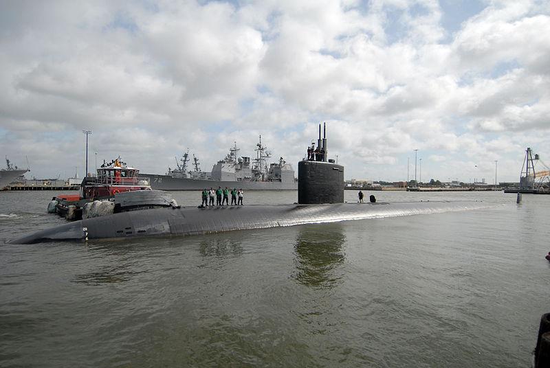 USS MONTPELIER SSN-765 am 27.04.2011 in Norfolk Bild: U.S. Navy