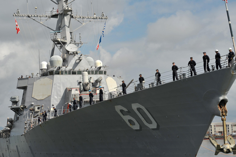 USS PAUL HAMILTON DDG-60 Auslaufen Pearl Harbor am 05.04.2016 Bild: U.S. Navy