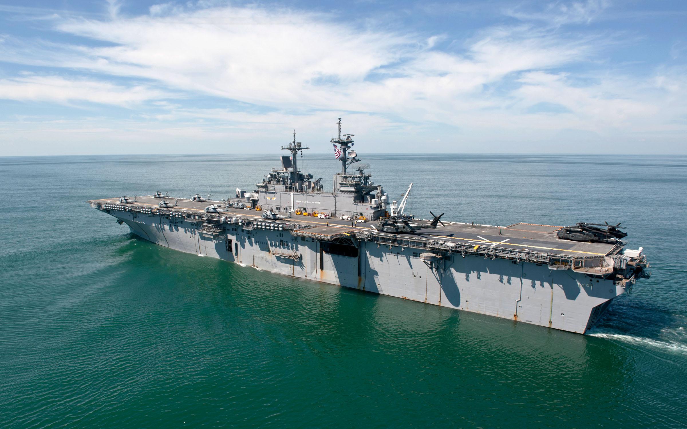 USS WASP LHD-1 Bild: U.S. Navy
