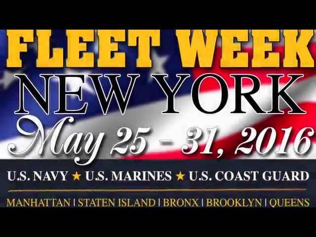 Fleet Week New York 2016 Logo