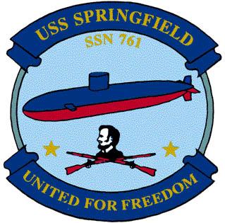 USS SPRINGFIELD SSN-761 Crest Grafik: U.S. Navy