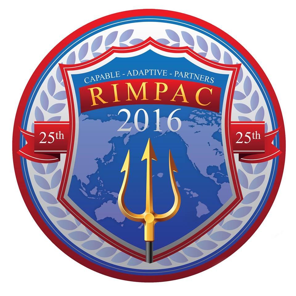 RIMPAC 2016 Crest Grafik: U.S. Navy