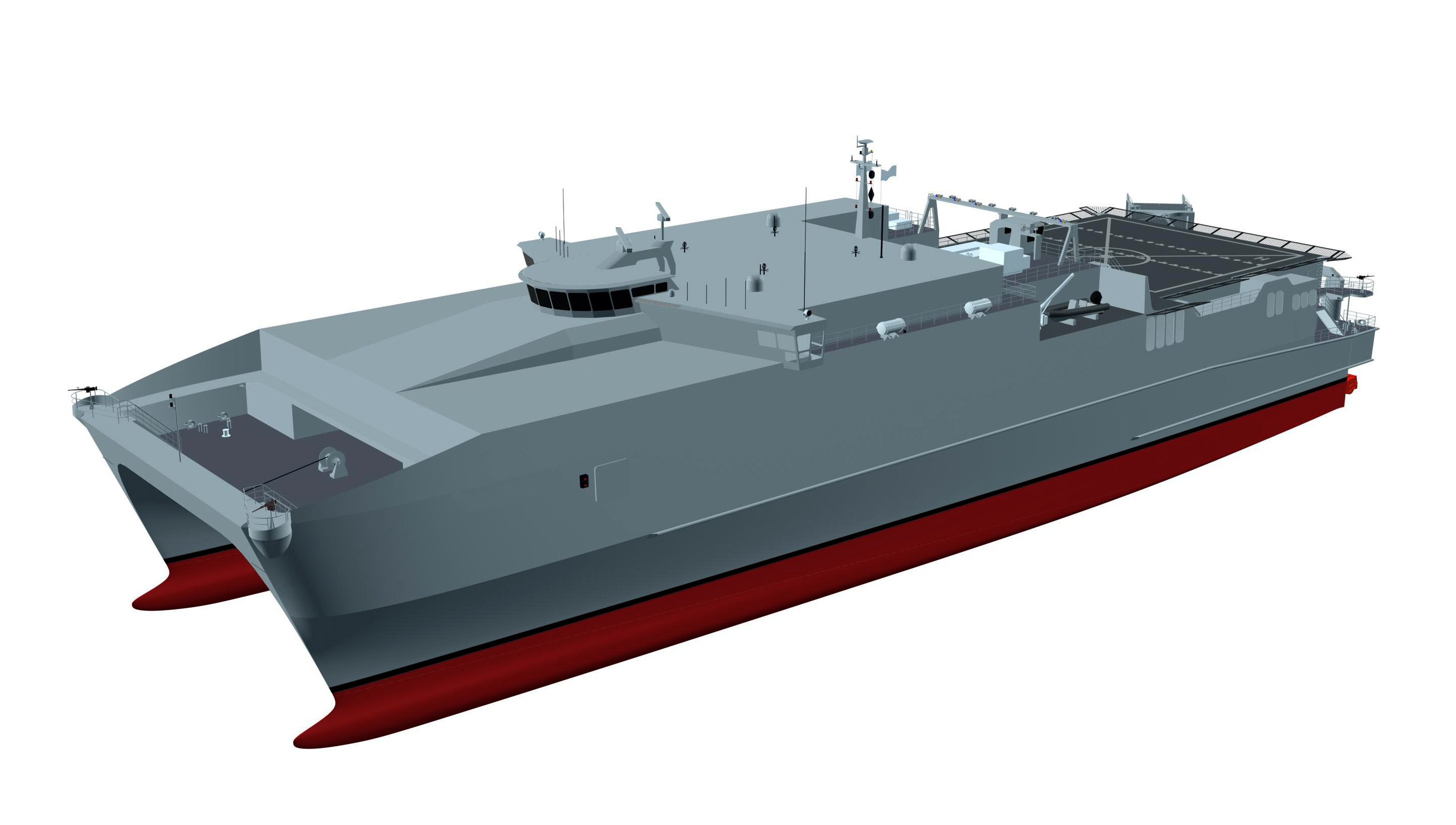 SPEARHEAD-Klasse T-EPF Grafik Grafik: U.S. Navy