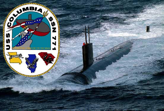 USS COLUMBIA SSN-771 Bild und Grafik: U.S. Navy
