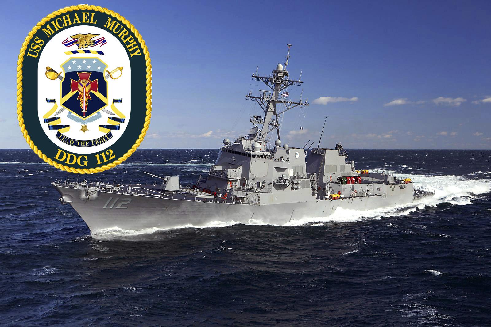 USS MICHAEL MURPHY DDG-112 Bild und Garfik: U.S. Navy