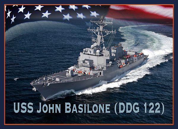 USS JOHN BASILONE DDG-122 Grafik: U.S. Navy