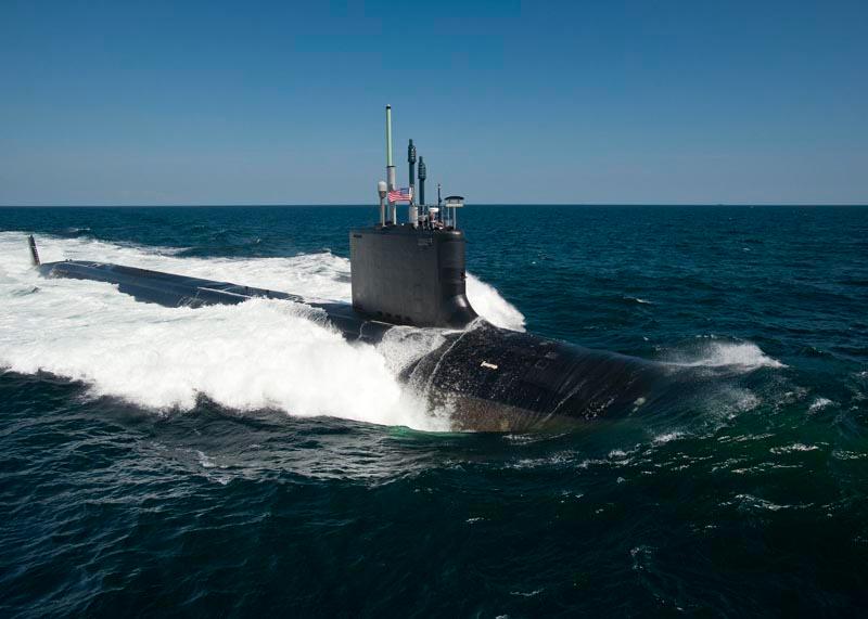 USS CALIFORNIA SSN-781 Bild: U.S. Navy