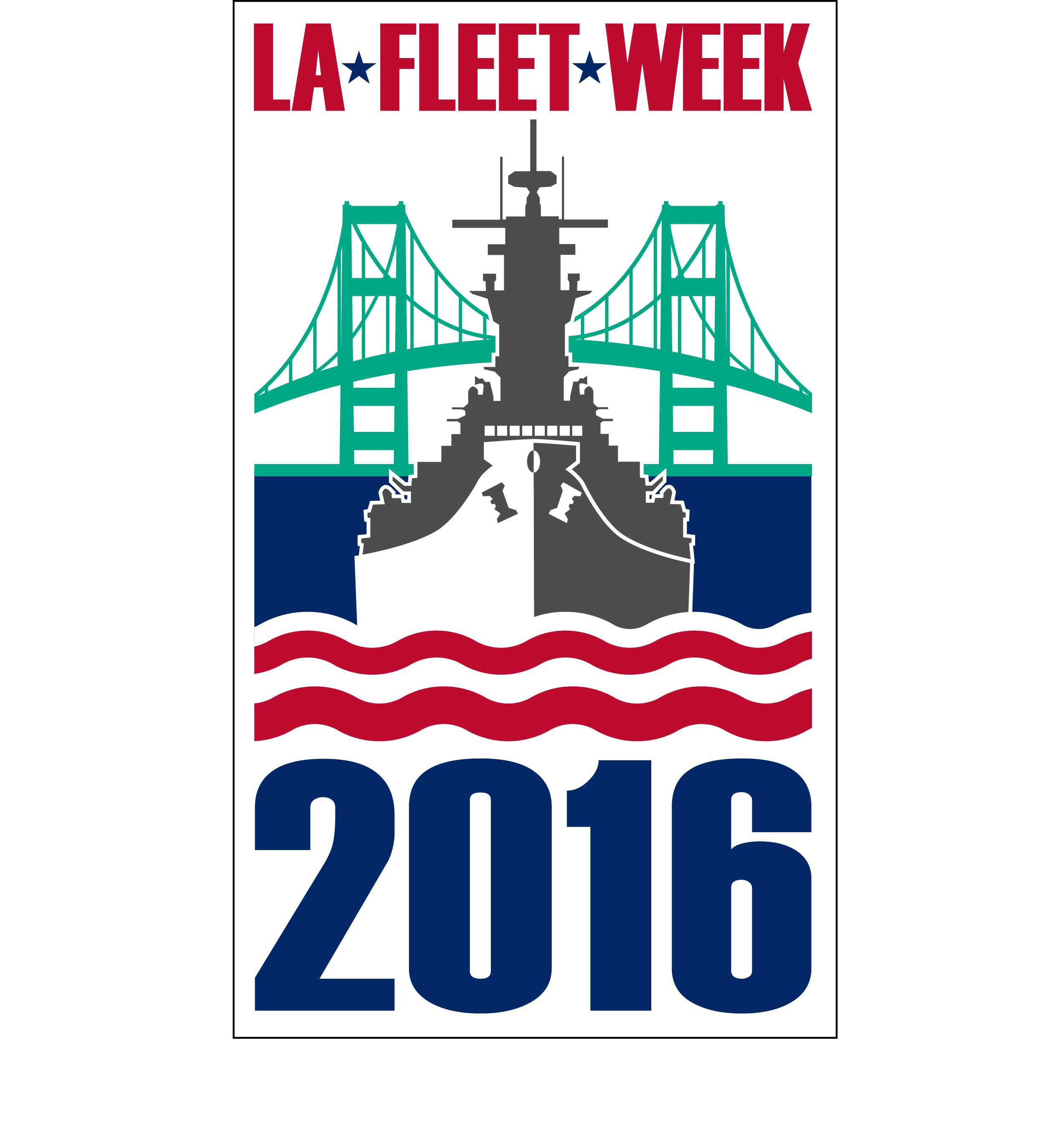 Logo Fleet Week Los Angeles 2016