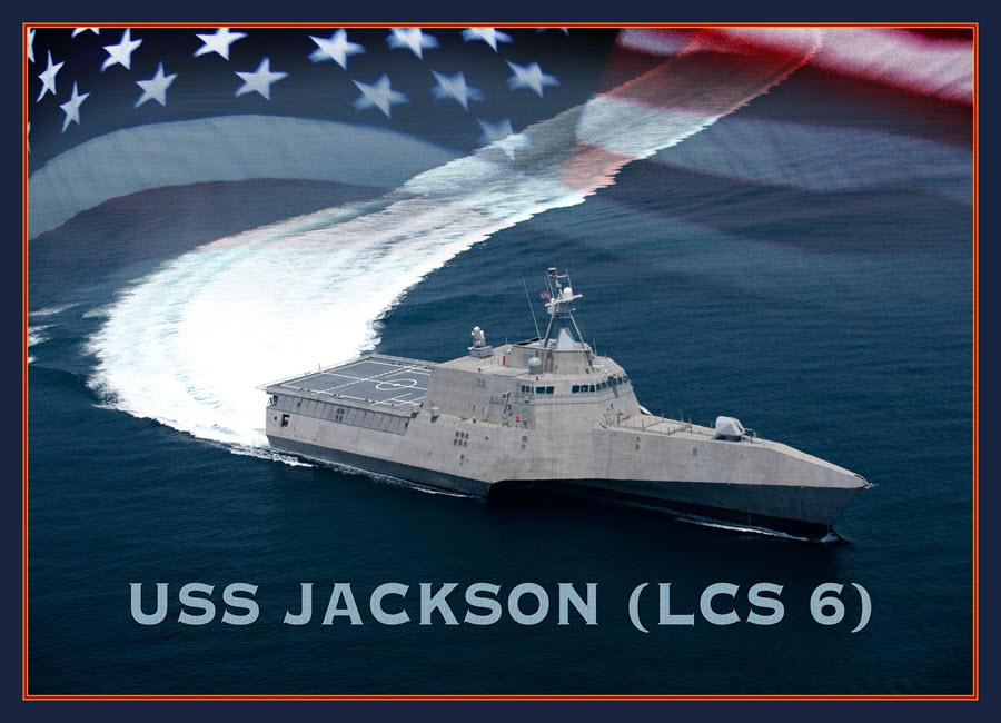 USS JACKSON LCS-6 Grafik: U.S. Navy