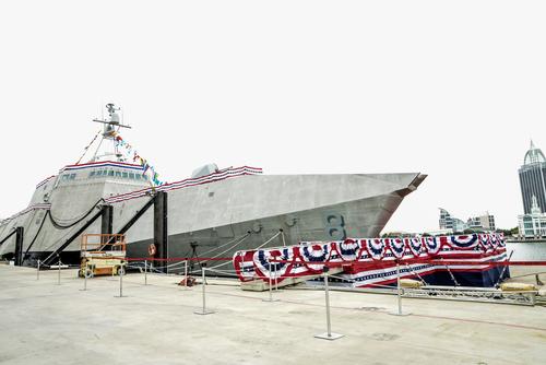 USS MONTGOMERY LCS-8 Indienststellung Bild: U.S. Navy