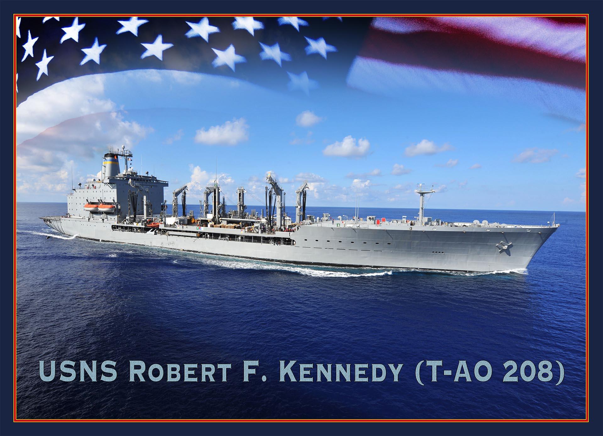 USNS ROBERT F. KENNEDY T-AO 208 Grafik Grafik: U.S. Navy