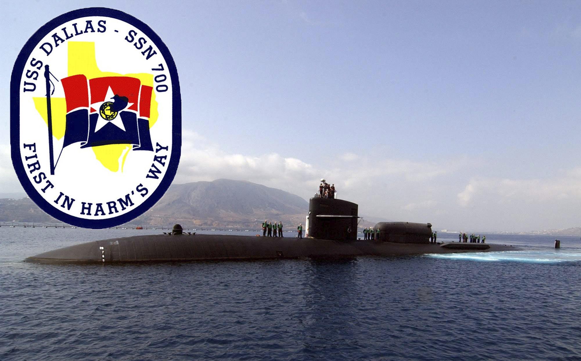 USS DALLAS SSN-700 Bild und Grafik: U.S. Navy
