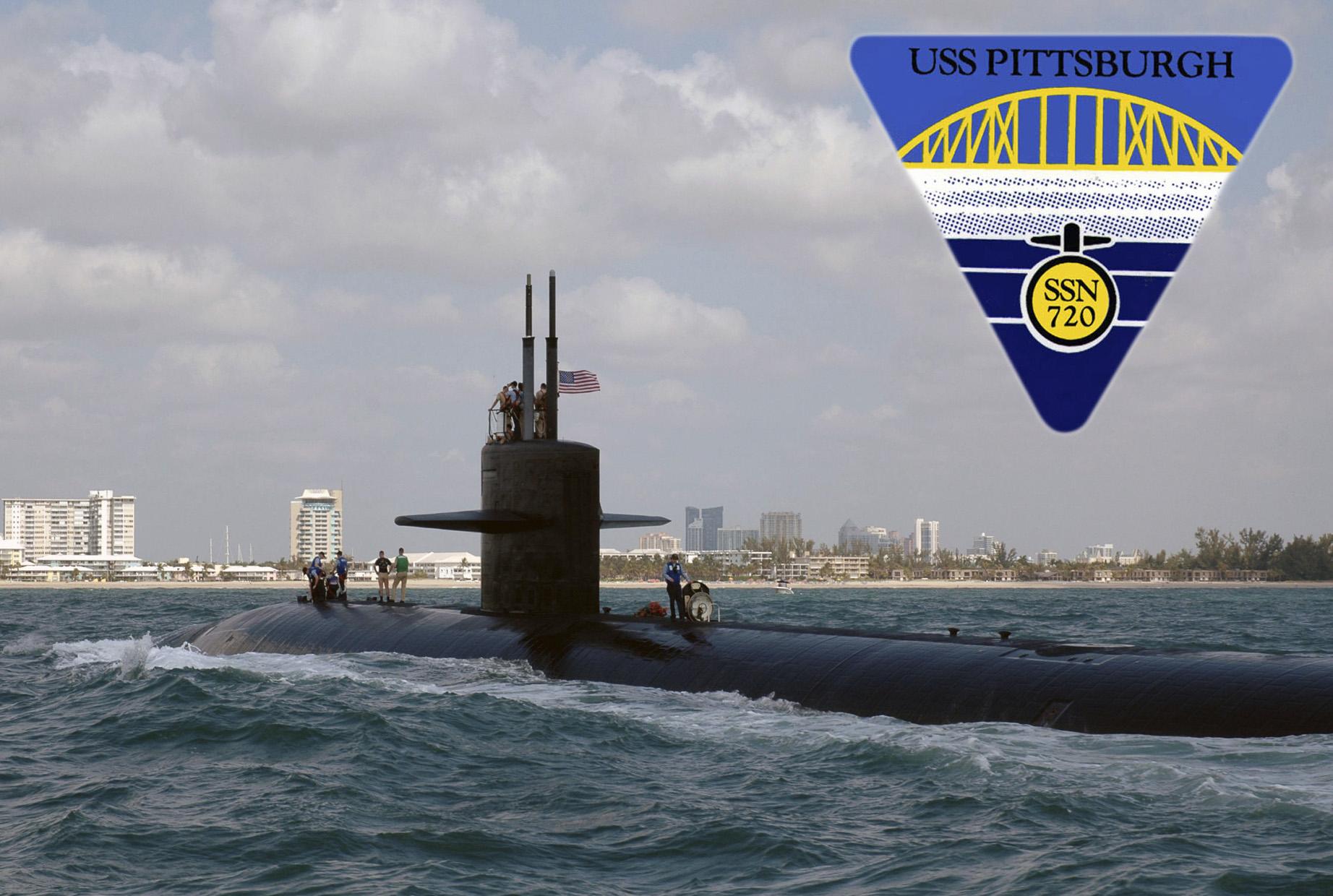 USS PITTSBURGH SSN-720 Bild und Grafik: U.S. Navy