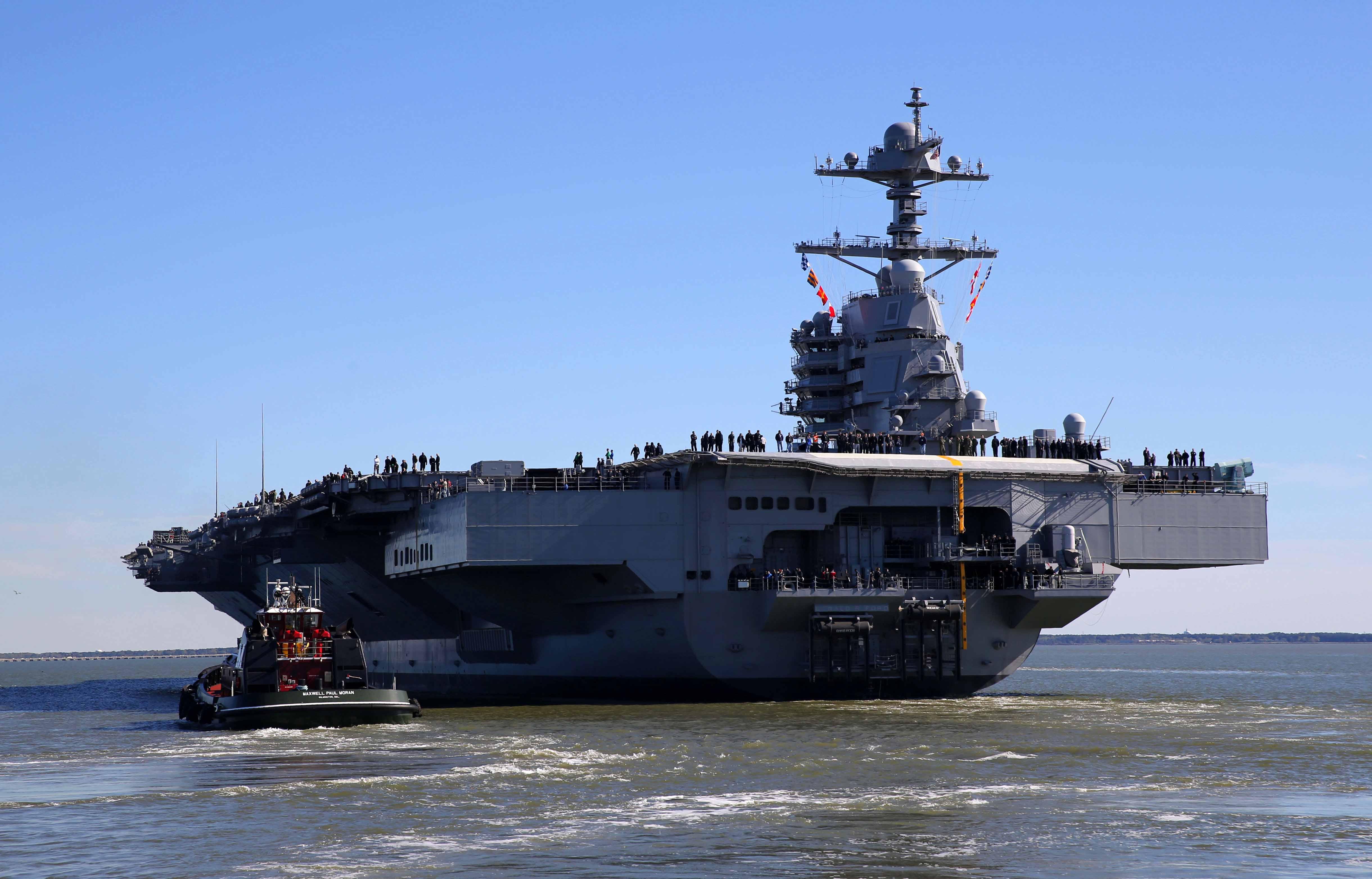 Gerald R Ford Klasse Us Navy Schiffspost